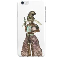 Lady Easter Rabbit Cat iPhone Case/Skin