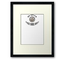 Go ahead and pick your Butt Framed Print