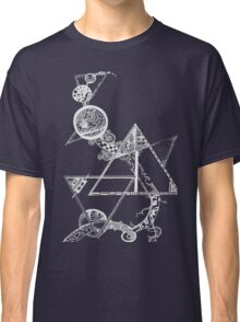 Time and space (white design) Classic T-Shirt
