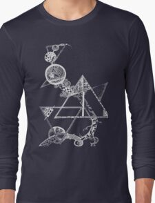 Time and space (white design) Long Sleeve T-Shirt
