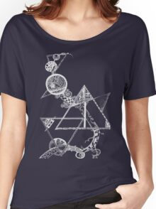 Time and space (white design) Women's Relaxed Fit T-Shirt