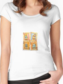 Playing for Forever Women's Fitted Scoop T-Shirt