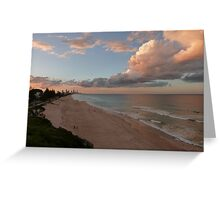 Gorgeous Gold Coast Sunset Greeting Card
