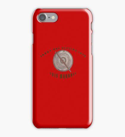 Locked Manhole iPhone Case/Skin