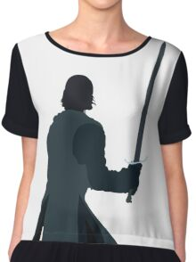 King in the North Chiffon Top