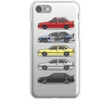 Stack of Volvo 850R 854R T5 Turbo Saloon Sedans iPhone Case/Skin