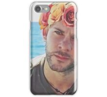 Charlie Pace Flower Crown iPhone Case/Skin