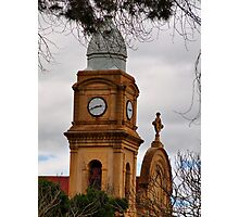Abbey Church Tower Photographic Print
