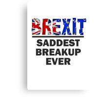 Brexit Canvas Print