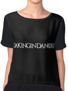 DAKINGINDANORF - White Chiffon Top