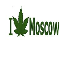 I Love Moscow by Ganjastan