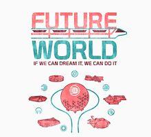 Future World Map Unisex T-Shirt