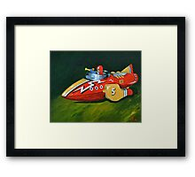 Rocket Fighter  Framed Print