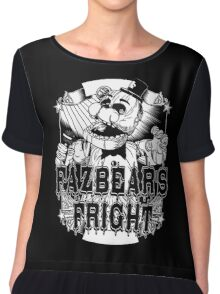 Fazbear's Fright Five Nights FNAF Freddy's Horror Video Game Chiffon Top