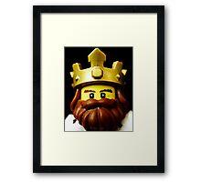 Classic King Framed Print