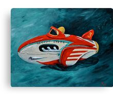 Rocket Racer Canvas Print