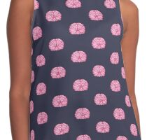 Brainy Repeat #2 Contrast Tank