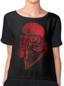 Astronaut Sabbath blood Chiffon Top