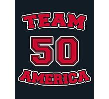 Go Team America! Photographic Print