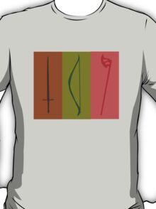 Sword, Bow, Ax T-Shirt