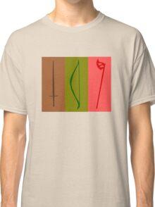 Sword, Bow, Ax Classic T-Shirt