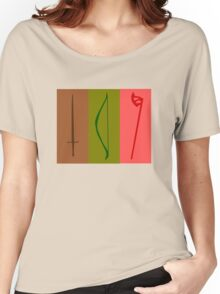 Sword, Bow, Ax Women's Relaxed Fit T-Shirt