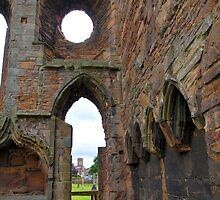 Elgin Cathedral (2) by kalaryder