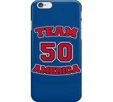 Go Team America! iPhone Case/Skin