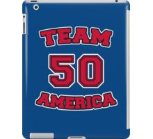 Go Team America! iPad Case/Skin