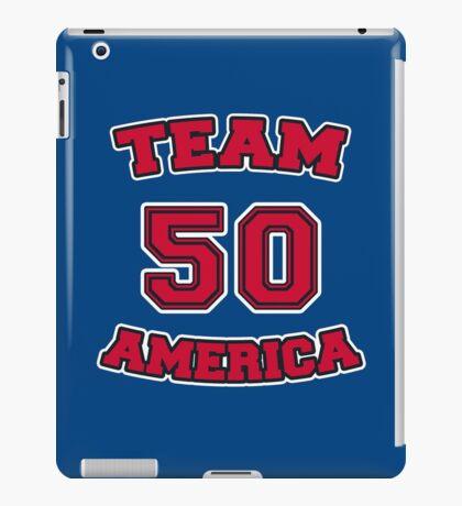 Go Team America! iPad Case/Skin