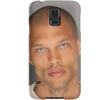 Jeremy Meeks, the Handsome Mugshot, Hot Felon Samsung Galaxy Case/Skin