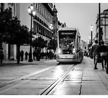 City Nights - Monochrome  Photographic Print