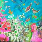 spring garden by picketty