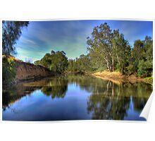 Ovens River, Wangaratta, Victoria, Australia. Poster