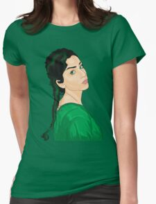 Green Envy Womens Fitted T-Shirt