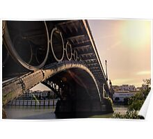 Seville - the Triana bridge Poster