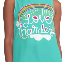 Love Harder Contrast Tank
