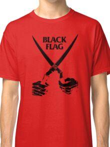Retro Punk Restyling   - Black Flag scissors Classic T-Shirt