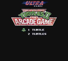 Ninja Turtles II Arcade Game Unisex T-Shirt