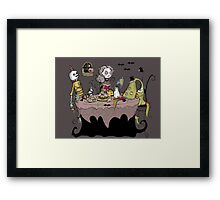 Maggoty Ann Tea Party Framed Print