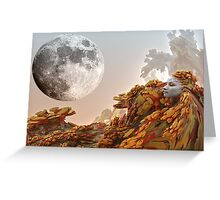 Moon Journey Greeting Card