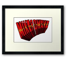 ▼▲ Mike-Ro-Wave ▲▼ Framed Print
