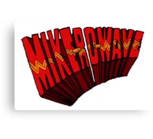 ▼▲ Mike-Ro-Wave ▲▼ Canvas Print