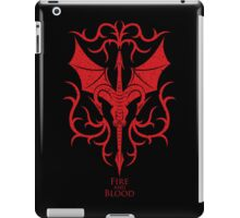 Targaryen Crest & Words - Distressed iPad Case/Skin