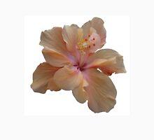 Peach Hibiscus Unisex T-Shirt