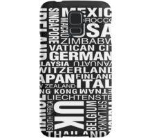 Bill Hicks - Around The World Samsung Galaxy Case/Skin