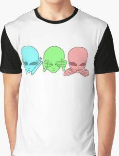 Hear no. See no. Speak no. Graphic T-Shirt