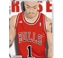 Derrick Rose 1 iPad Case/Skin