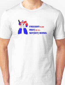 Optimus Prime Motto T-Shirt
