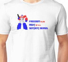 Optimus Prime Motto Unisex T-Shirt